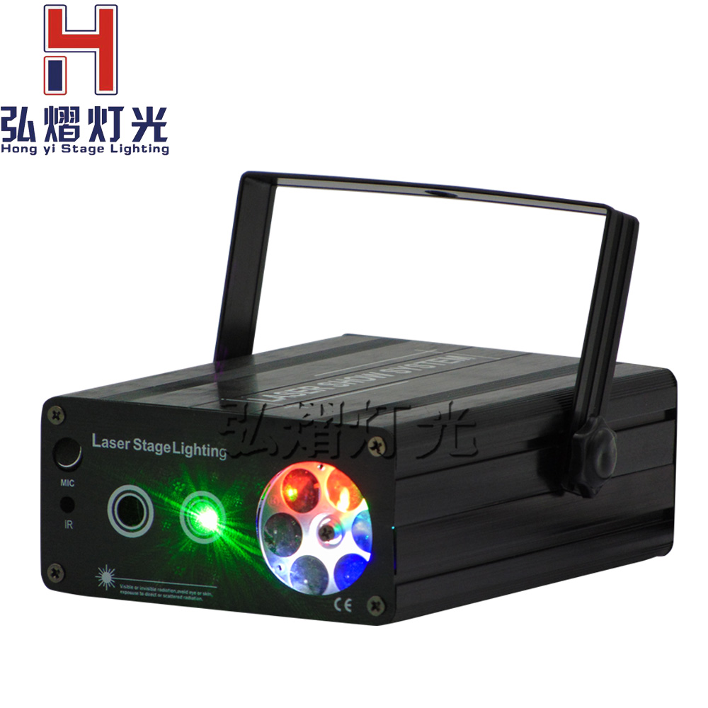 Lights & Lighting Commercial Lighting Sincere New High Quality Mini 2in1 Effect R&g Audio Stars Whirlwind Laser Projector Stage Disco Dj Club Ktv Family Party Light Show