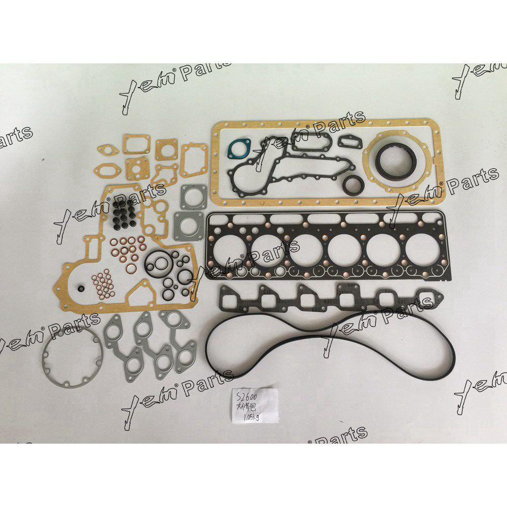New Kubota S2600 Full Gasket Kit With Cylinder Head Gasket