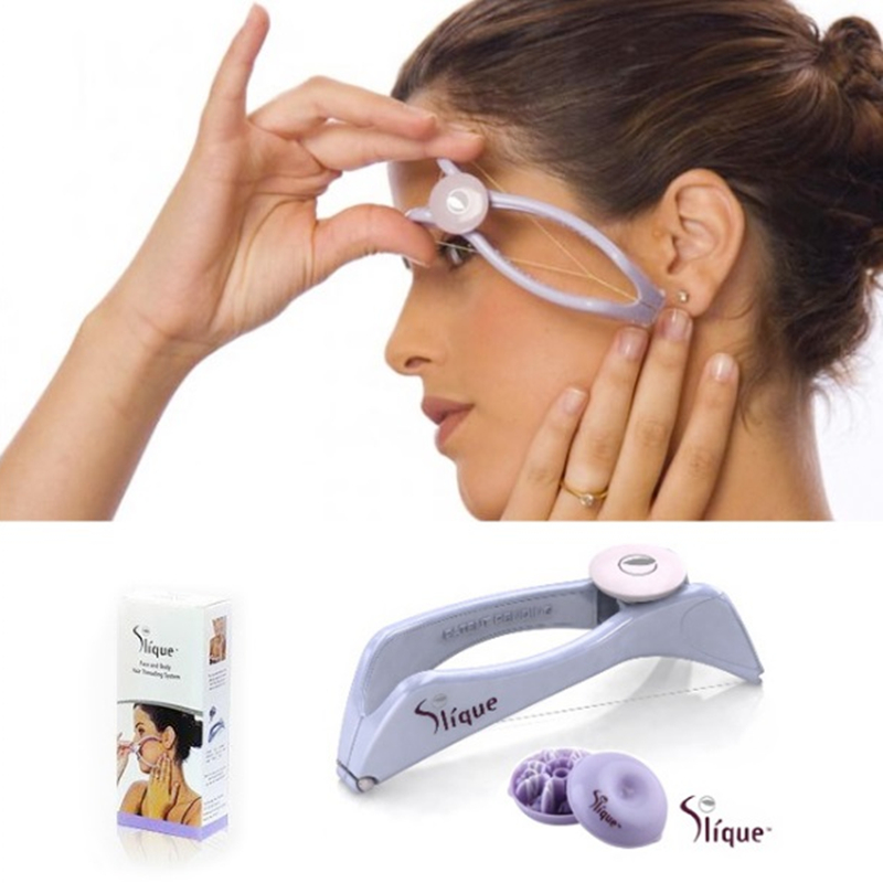 High Quality New Original Hair Removal Threading System Beauty Tool Manually Threading Face and Body Hair Epilator Depilation