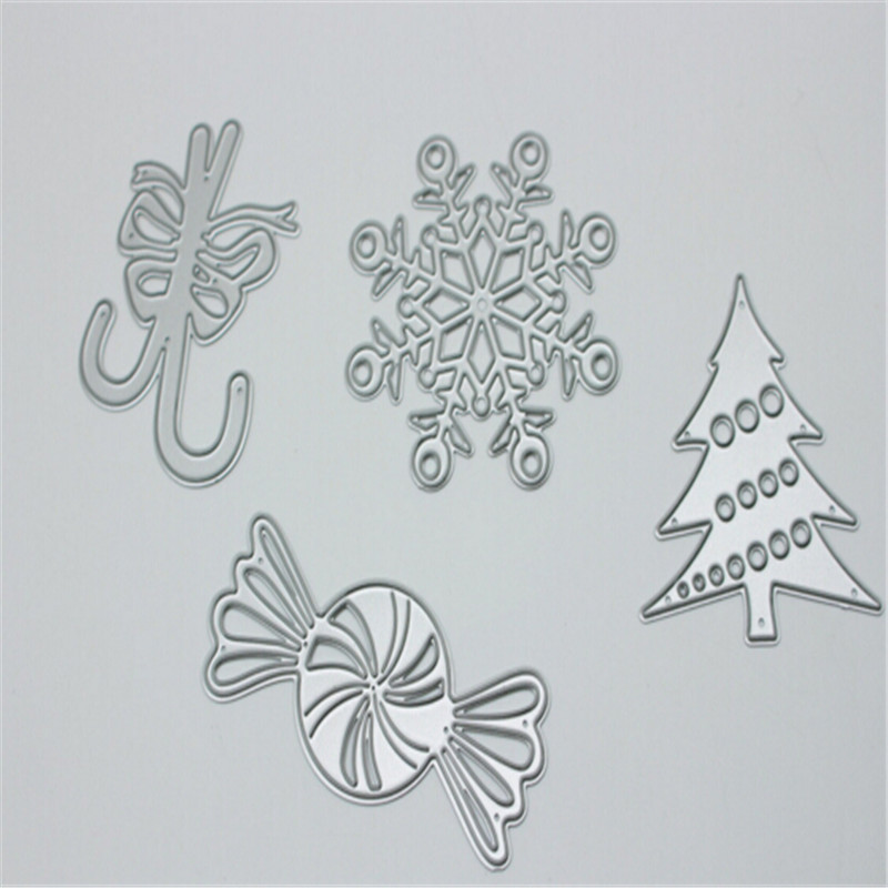 Christmas set Metal Die Cutting Scrapbooking Embossing Dies Cut Stencils Decorative Cards DIY album Card Paper Card Maker m word hollow box metal die cutting scrapbooking embossing dies cut stencils decorative cards diy album card paper card maker