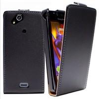 Leather Case Flipcover Screen Protector For HTC G18 Sensation XE Z715E G14 Z710E Microfiber Case