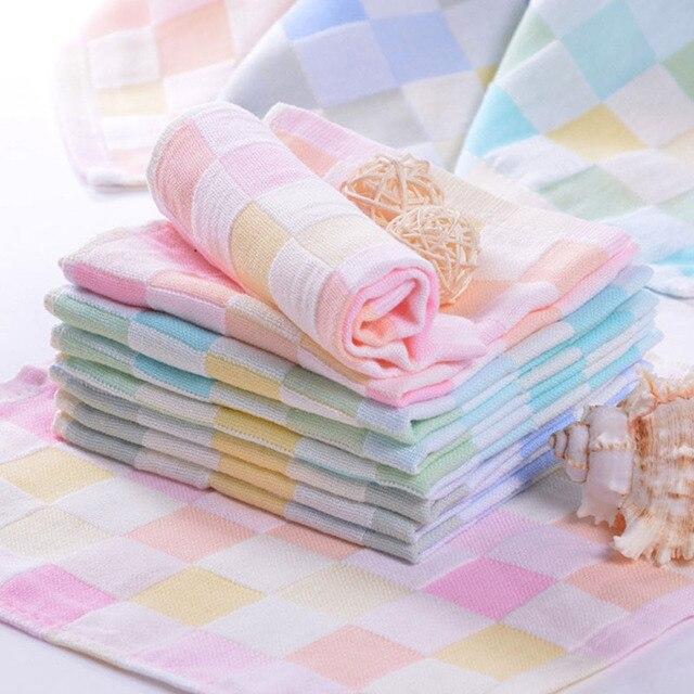 25*25 cm Bambini Morbido Asciugamano Piccolo Quadrato di Salviette Alimentazione