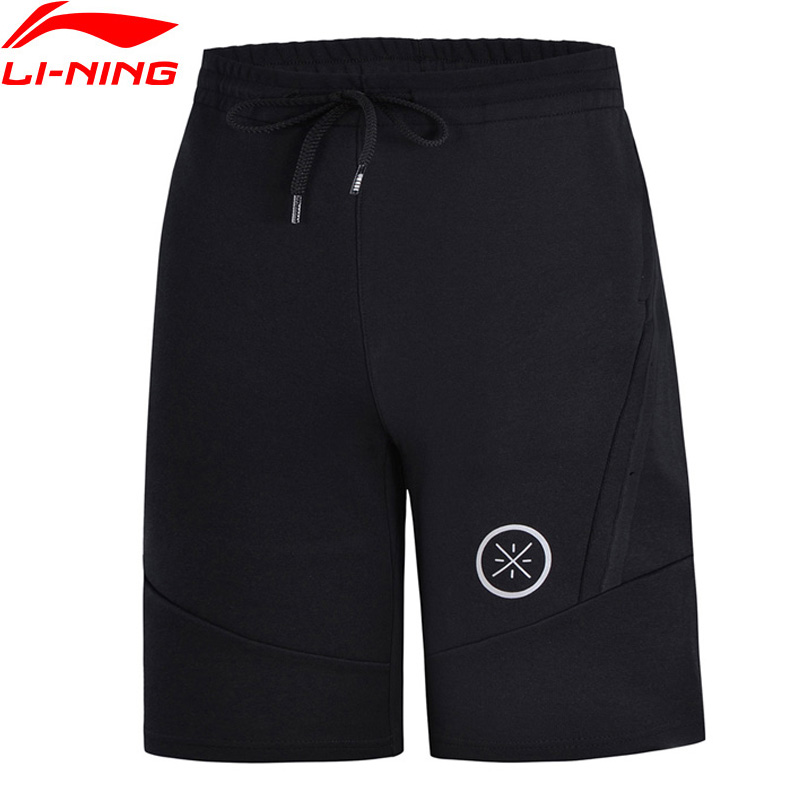 Li Ning Men Wade Series Basketball Shorts 3D Fitting Regular Fit 69 Cotton 31 Polyester LiNing