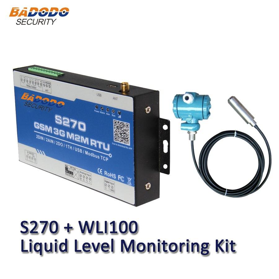 badodo gsm 2g 3g sms kit de monitoramento de nivel liquido em tempo real monitoramento de