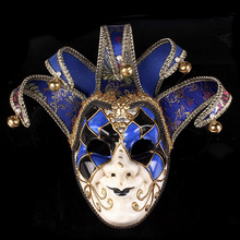 Newly high-end Venetian masquerade mask mask Europe and the United States Halloween clown mask show supplies