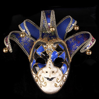 Newly High End Venetian Masquerade Mask Mask Europe And The United States Halloween Clown Mask Show