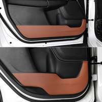 QCBXYYXH Car Styling Protector Side Edge Protection Pad Protected Anti Kick Door Mats Cover For Honda