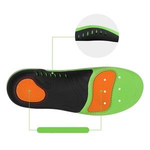Image 2 - Wkładki do butów ortopedycznych podeszwy wkładki płaskostopie sklepienie łukowe stopa Vargus Valgus korektor wkładka do butów wkładka Inlegzolen Eva