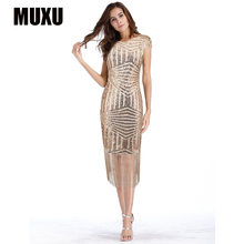 MUXU sexy summer womens clothing party dress sequin glitter bodycon ropa mujer roupa feminina patchwork women jurk
