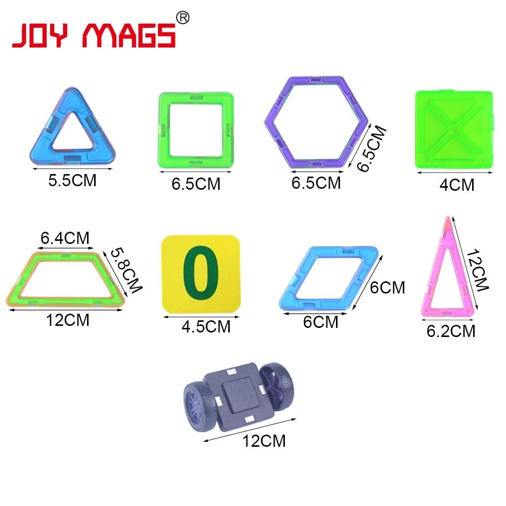 JOY MAGS Magneettisuunnittelulohko 89/102/149 kpl Rakennemallit Toy - Rakentaminen lelut - Valokuva 5