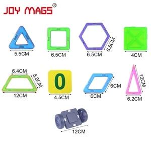 Image 5 - JOY MAGS układanki magnetyczne blok 89/102/149 pcs modele budowlane zabawki Enlighten zestawy plastikowych modeli edukacyjne zabawki dla małych dzieci