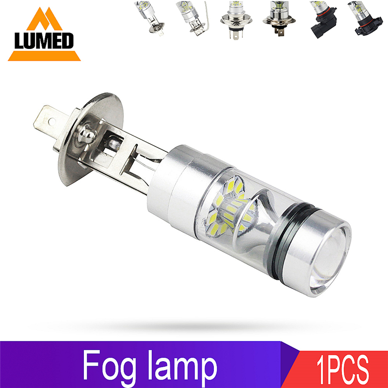1x Car H11 HB3 HB4 LEDs H1 H3 H4 H7 9005 9006 H8 H16 <font><b>Auto</b></font> Light Fog Lamp <font><b>20</b></font> LED 2835 <font><b>Bulb</b></font> DRL image