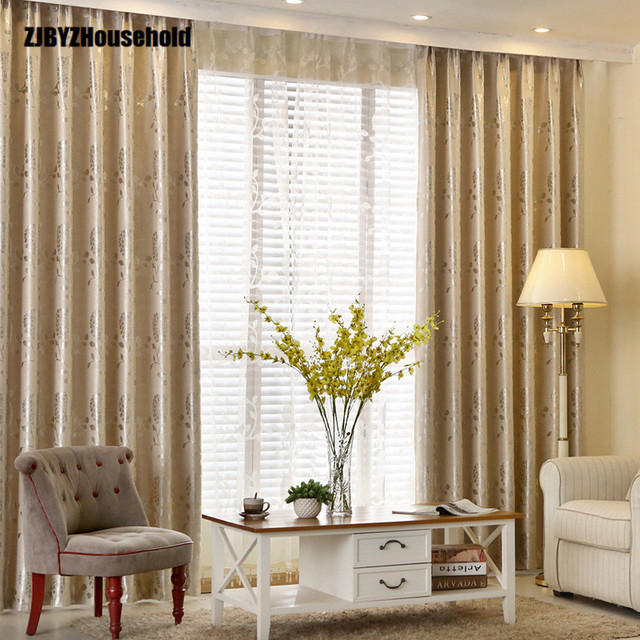 Delicieux New Curtains For European Style Simple Modern Bedroom Living Room Shading  Curtain Cloth