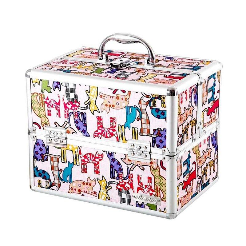 Dessin animé mignon mode Portable médecine poitrine ménage boîte médicale multi-couche ensemble complet Mini enfants bébé médecine boîte