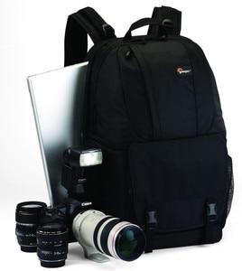 Image 1 - מקורי Lowepro Fastpack 350 FP350 SLR דיגיטלי מצלמה כתף תיק 17 אינץ מחשב נייד עם כל מזג אוויר כיסוי גשם