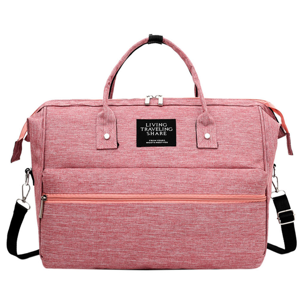 Large Capacity Diaper Bag  Baby Nappy Bag Mummy Daddy Backpack Waterproof Casual Laptop Bag Milk Bottle Bag