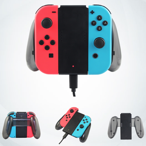Image 5 - charging grip for Nintendo Switch Joy Con controllers handheld grip game console charger