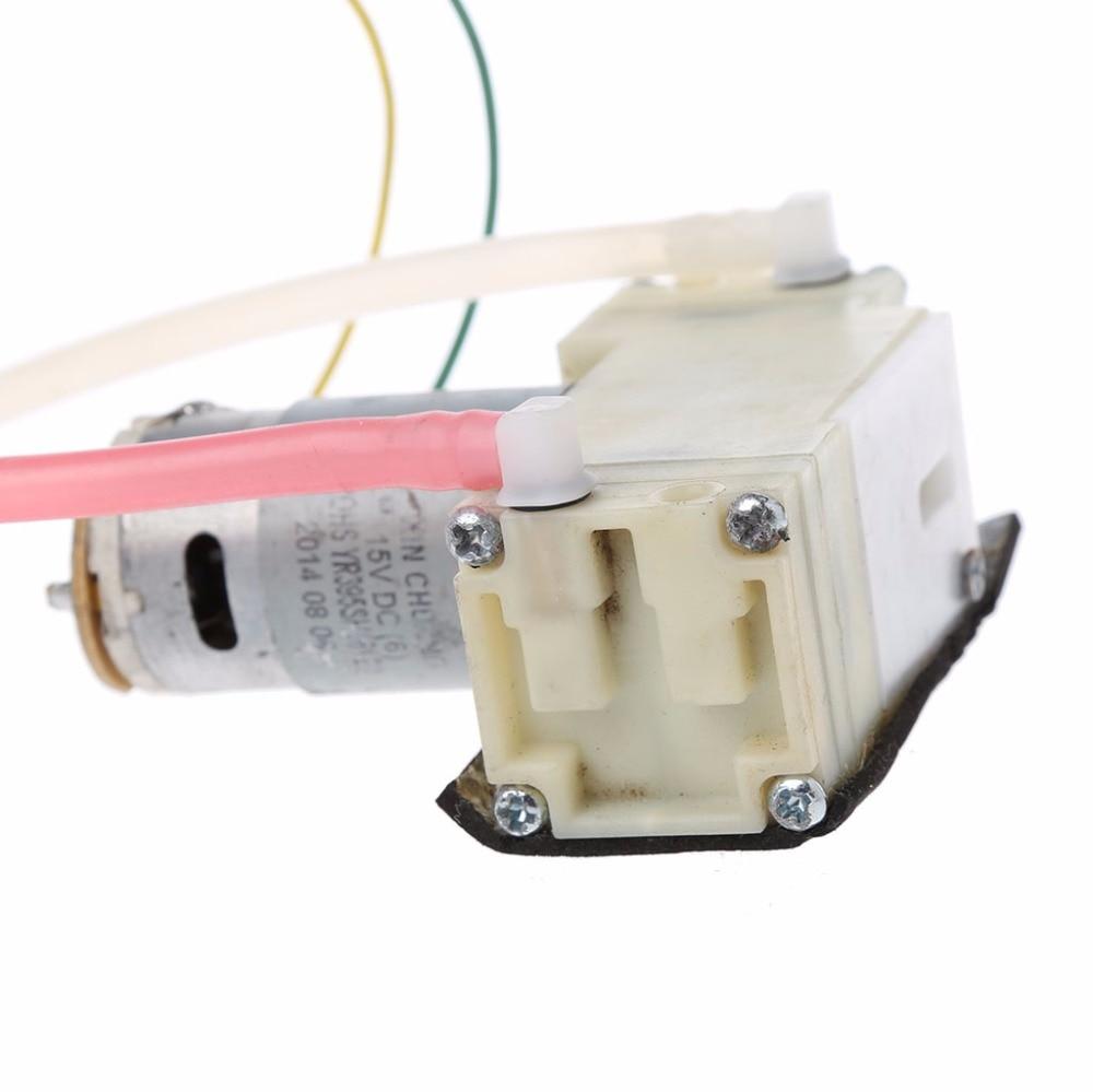 DC 12V-15V Micro Negative Pressure Suction Diaphragm Double Head Vacuum Pump