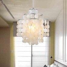 Moderne Runde Kronleuchter Beleuchtung Mit Capiz Muscheln Natrlichen Weiss Pendelleuchte Fr Wohnzimmer Schlafzimmer Esszi