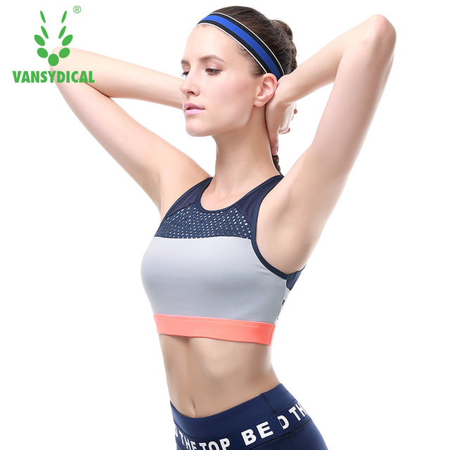 339e00f296 Women Sexy yoga Bra Running Fitness Athletic Vest Popular Sports Bra Hollow  Out Yoga Top Push Up Underwear for Woman