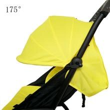 ФОТО oxford cloth babyyoya poussette stroller 175 degrees sun shade seat cushion baby stroller accessories apply to 175 yoya stroller