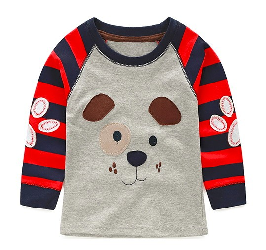 HTB1dSsRLpXXXXb0XpXXq6xXFXXXP - VIDMID boys t-shirt long sleeves children's t-shirts autumn cartoon kids shirts for boys clothes cotton baby clothes boy t-shirt
