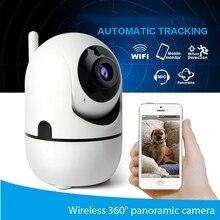 تتبع السيارات واي فاي كاميرا IP 720P اللاسلكية أمن الوطن واي فاي كامارا الأشعة تحت الحمراء للرؤية الليلية كاميرا تلفزيونات الدوائر المغلقة اتجاهين الصوت مراقبة الطفل