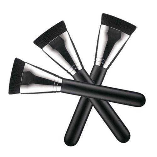 1 pcs Professional Cosmetic Pro 163 Flat Contour Brush Big Face Blend Makeup Brush Worldwide Hot  2016 Makeup Brushes