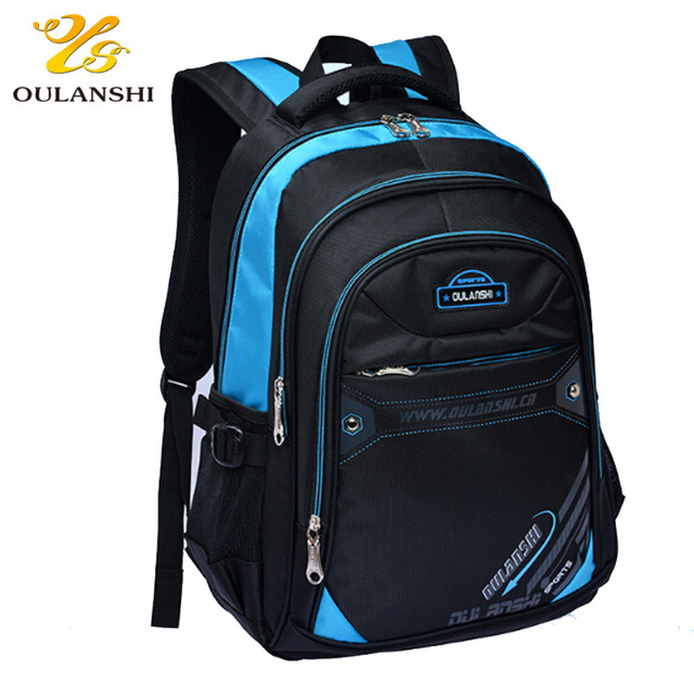 6bfdc93d6c0c 2018 New School backpack Student School bags for boy Nylon Waterproof  Protection spine Schoolbag for primary