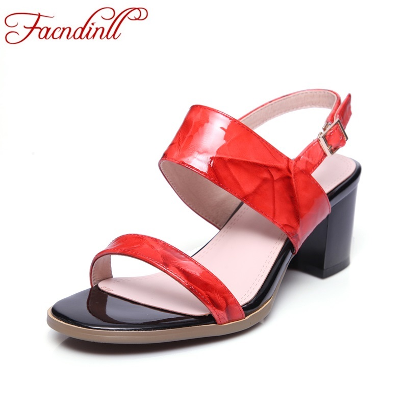 new fashion colorful leather women buckle sandals summer women sexy high heels gladiator sandal botas brand wedding shoes woman woman fashion high heels sandals women genuine leather buckle summer shoes brand new wedges casual platform sandal gold silver