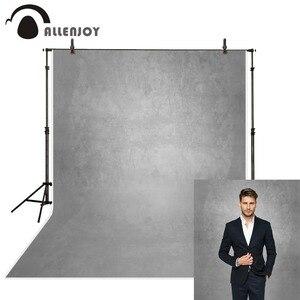 Image 1 - Allenjoy cinza cor pura velho mestre fotografia backdrops abstrato retrato foto fundo estúdio photozone decoração piso de vinil