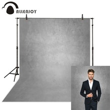 Allenjoy gris couleur pure vieux maître photographie décors abstrait portrait photo fond studio photozone décor vinyle sol
