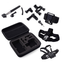 AVAWO 7-in-1 GOPRO Accessories Kit with Carrying Case for GOPRO HERO Action Cameras And XIAOYI SJ4000