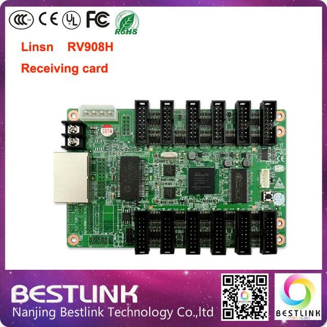 256 * 1024 пикселей Linsn RV908H получения карты видеоконтроллер карты с hub75 порт для p6 p8 p10 p12 p16 р20 из светодиодов гамма дисплея