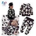 2016 nova venda quente da criança meninos roupas de luxo Mickey roupas Set treino criança menino marca Sportswear roupas terno