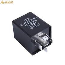 EP27 FL27 LED Flasher Relay 12V Car Electronic 5Pin Fix For LED Turn Signal Lamp blinker corner light 5P Hyper Flash Auto Relays led flasher relay fix the signal lights resistor 8 pin for toyota and lexus