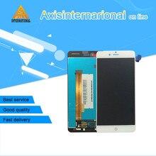 Дешевые Для 5,2 »zte Нубия Z11 мини S NX549J Axisinternational ЖК-дисплей экран + Сенсорная панель планшета белый/черный Бесплатная доставка
