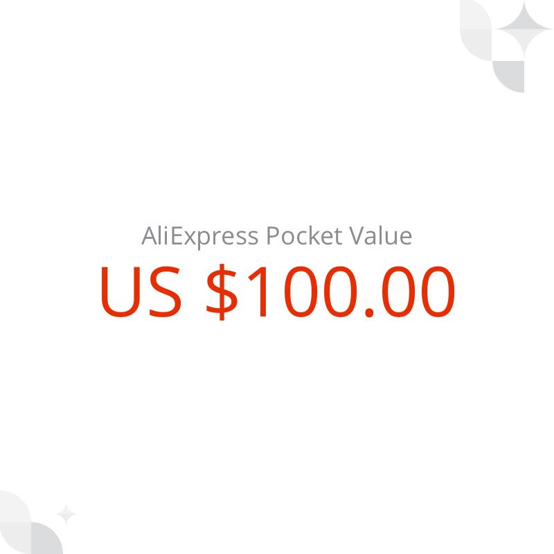 US $ 100 AliExpress Pocket