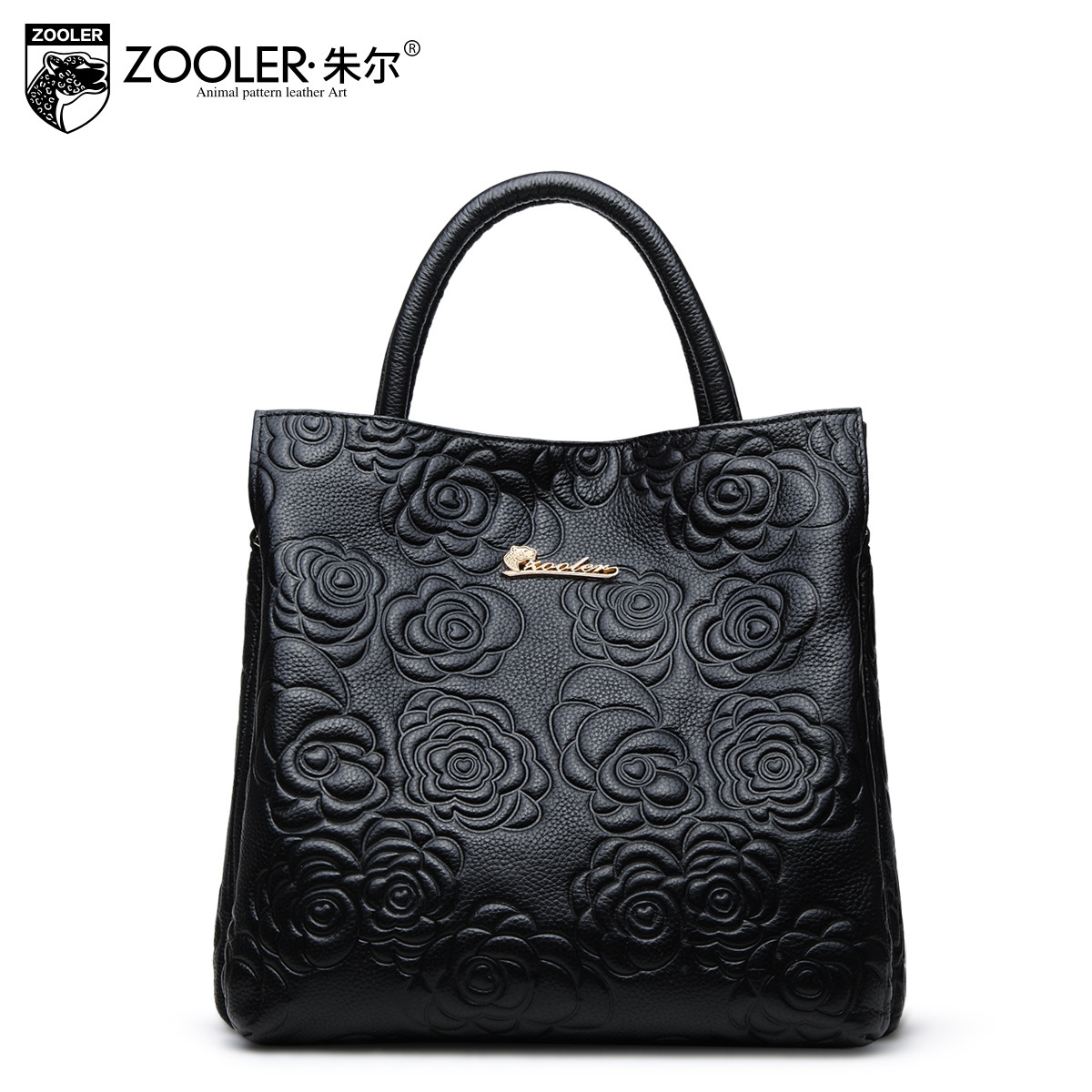 ZOOLER Bags Handbags Women Famous Brands Genuine Leather Handbag Women Crossbody Shoulder Messenger Bags Female Floral Tote Bag
