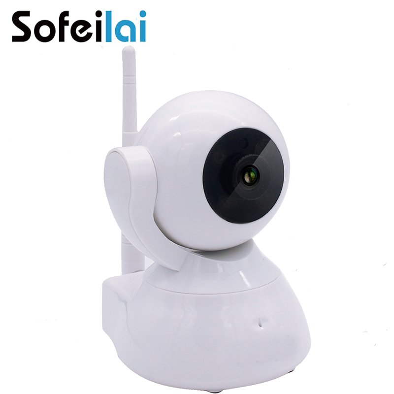 720P HD Home video Security IP Camera pan tilt PT Wireless Mini sd card Wifi  Night Vision Baby Monitor Surveillance CCTV camara 720p hd hi3518c ov9712 indoor mini security video ip camera with free cms software for home baby security