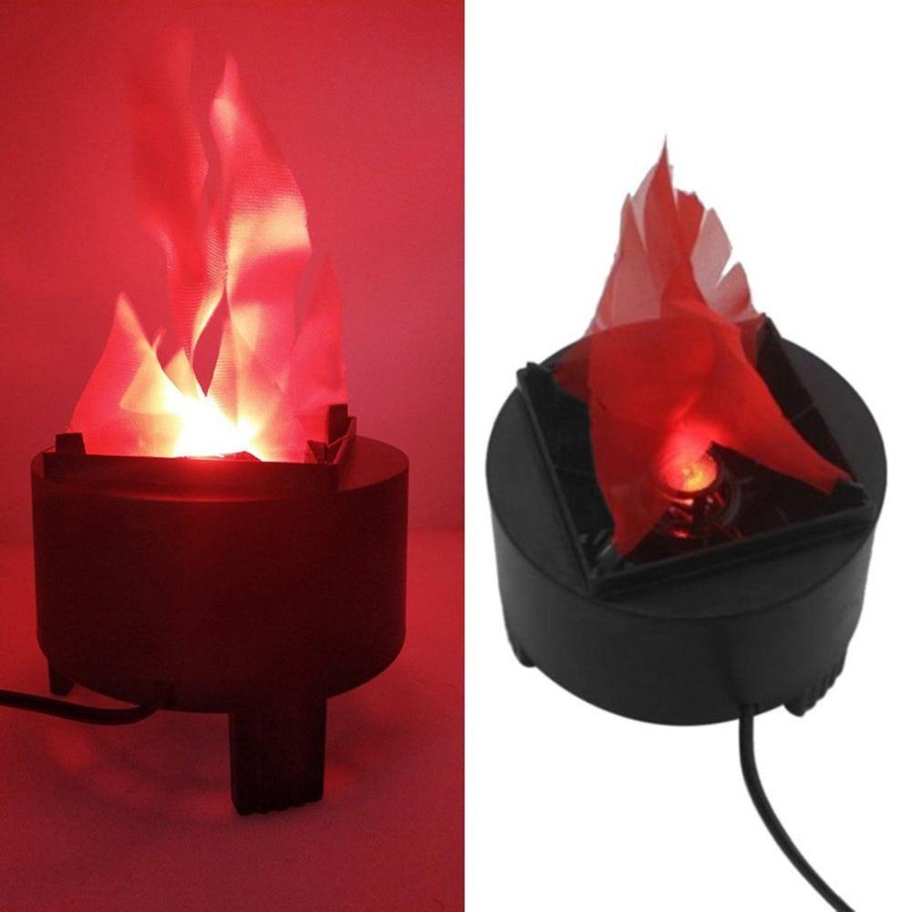 3W LED Simulated Flame Light Stage Effect Flame Lighting Electronic Brazier Lamp Party Festival Decor US/EU/UK/AU Plug