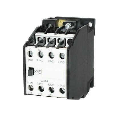 CJX1-9 AC Contactor 110V 50Hz Coil 9A 3-Phase 3-Pole 2NO + 2NC