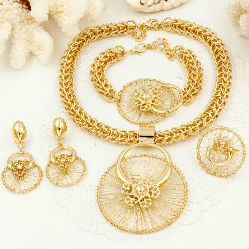 Online Get Cheap Big Gold African Jewelry Aliexpresscom