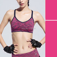Top Vest Wireless Underwear No Rims Bras Padded Push Up Quick Drying Professional Vest