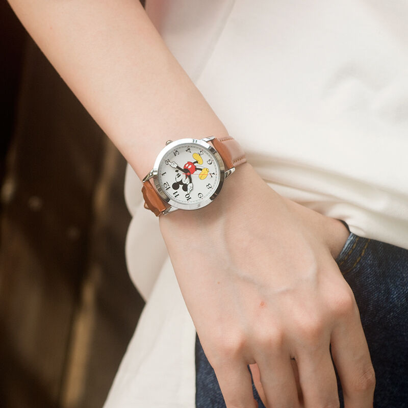 New Mickey mouse cuties cartoon horloge Boy girl love fashion - Kinderhorloges - Foto 6