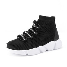Unisex Couples Running Shoes Breathable Mesh Women Sneakers