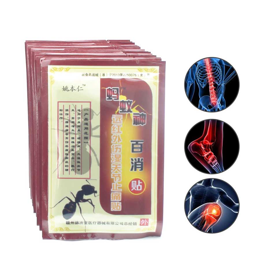 64Pcs/8Bags rheumatic arthritis plaster pain relief orthopedic plaster chinese traditional herbal medicines C510