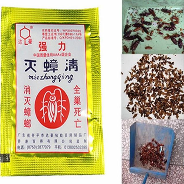 20Pcs Effective Cockroach Killing Bait Powder Cockroach Repeller Killer Anti Pest Cockroach Powder Pest Control Products