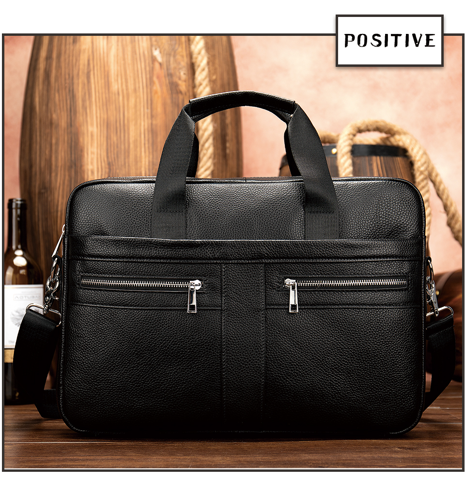HTB1dSwVRrPpK1RjSZFFq6y5PpXau WESTAL Bag men's Genuine Leather briefcase Male man laptop bag natural Leather for men Messenger bags men's briefcases 2019