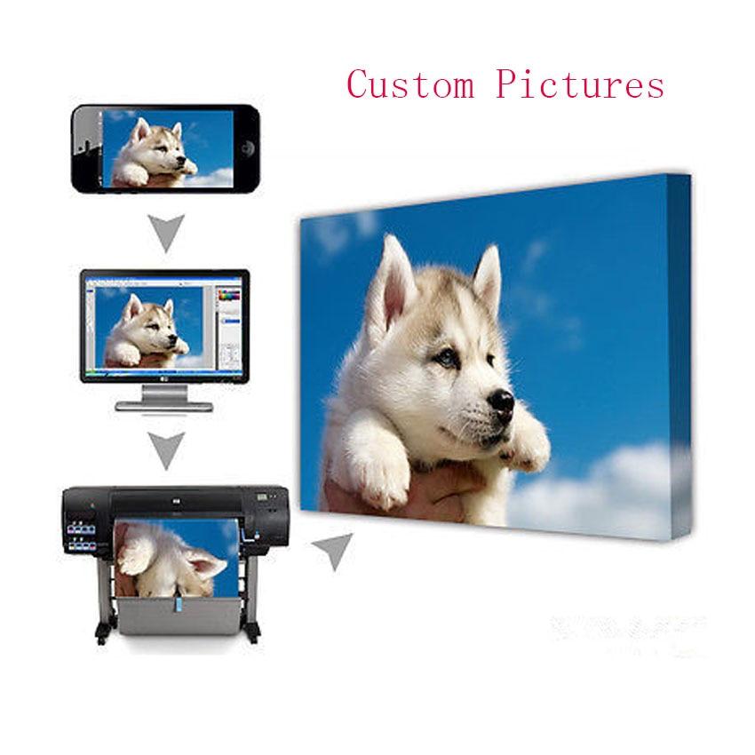 Anpassad Skriv ut ditt foto, familj eller babyfoto, favoritbild - Heminredning
